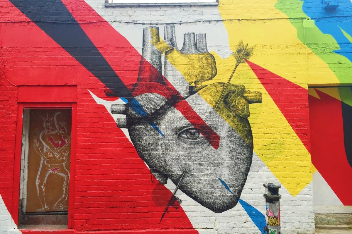 east london street art map rome - photo#49