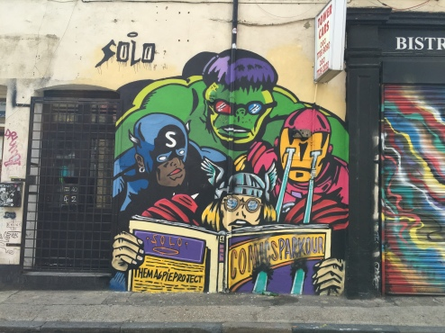 Chance street super heros